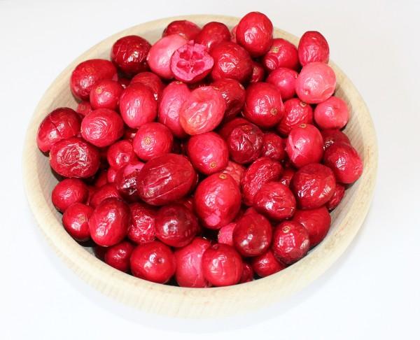 Cranberries gefriergetrocknet, OHNE Zuckerzusatz, 100% natur