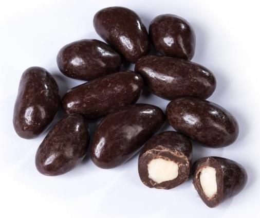 Paranusskerne in Zartbitterschokolade