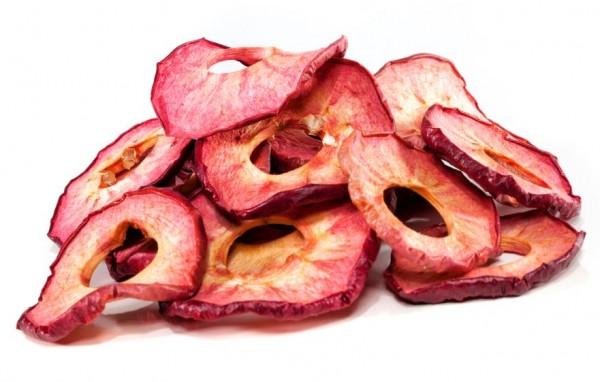 Apfelringe Weirouge, Rohkostqualität, aus Deutschland, einzigartig getrocknet