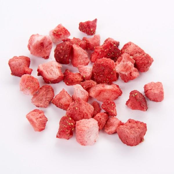 Erdbeeren gefriergetrocknet, 100g