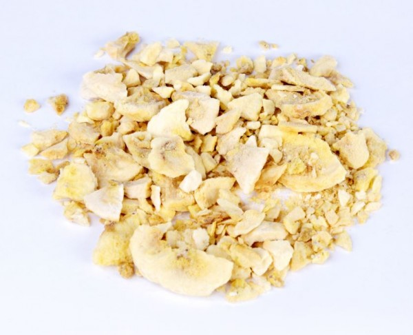 Bananenpulver / Stücke gefriergetrocknet, 200g