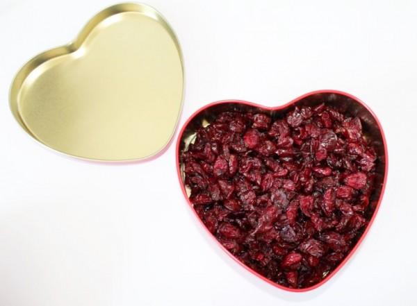 Cranberry Herz, wunderschön, 250g