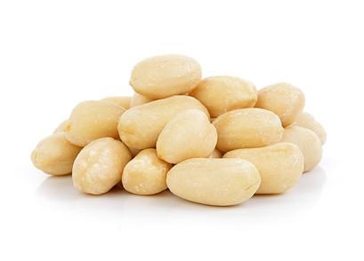 Erdnüsse / Erdnusskerne ungeröstet, ungesalzen, blanchiert