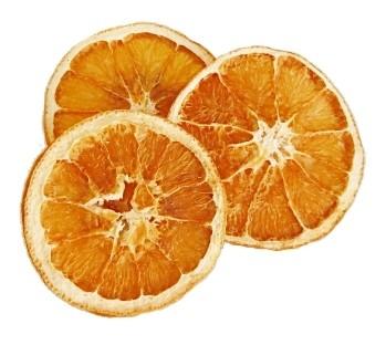 Orangen Scheiben getrocknet